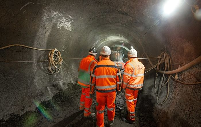 Connection tunnel completed at Tideway's Falconbrook pumping station