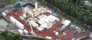 Geothermal drilling progresses on Azores Islands, Portugal