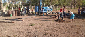 Drilling water wells: getting down and dirty