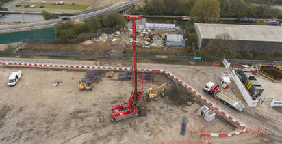 Geotechnical collaboration drives down embodied carbon at EcoPark South