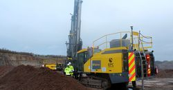 First of its kind in the UK Epirco drill rig for EPC-UK
