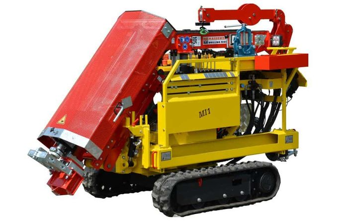 MI1 compact drill rig launched by Massenza