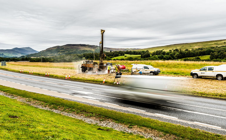 Fugro awarded another GI package on A9 Dualling
