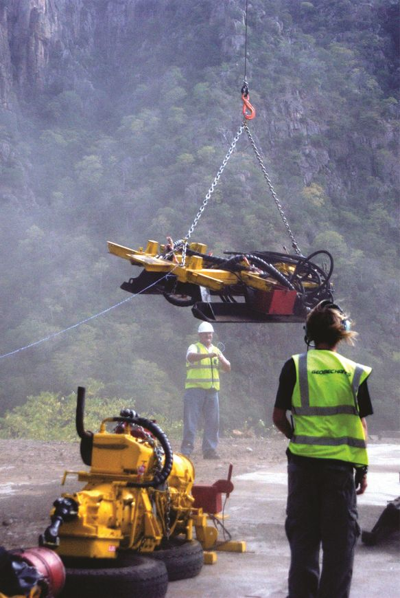eomechanic staff are skilled in using helicopters to transport equipment and crews to remote drilling platforms