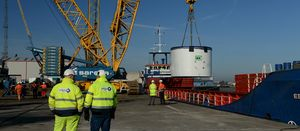 Sirius' tunnel boring machine arrives in UK