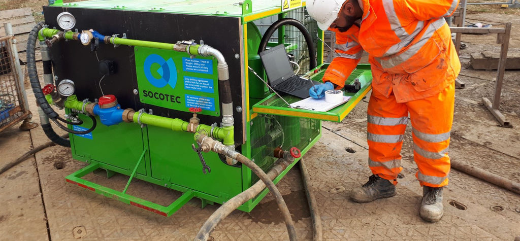 Socotec's new wireline instrumented packer system for permeability testing