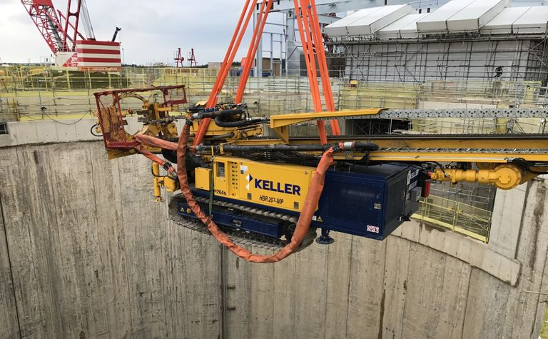 Keller drills with new technology at Woodsmith Mine