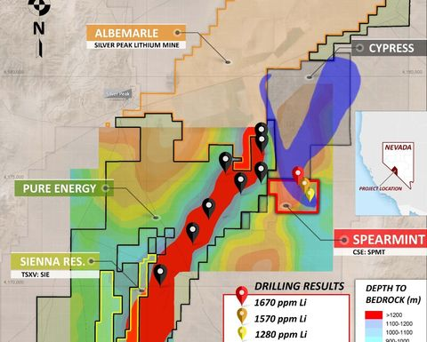Spearmint receives drill permit for Clayton Valley lithium project in Nevada