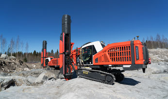 Sandvik launches new solutions to reduce noise from surface top hammer drill rig