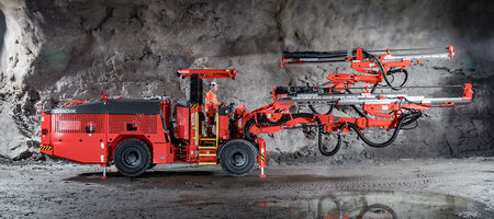 Sandvik launches DD320S development drill rig