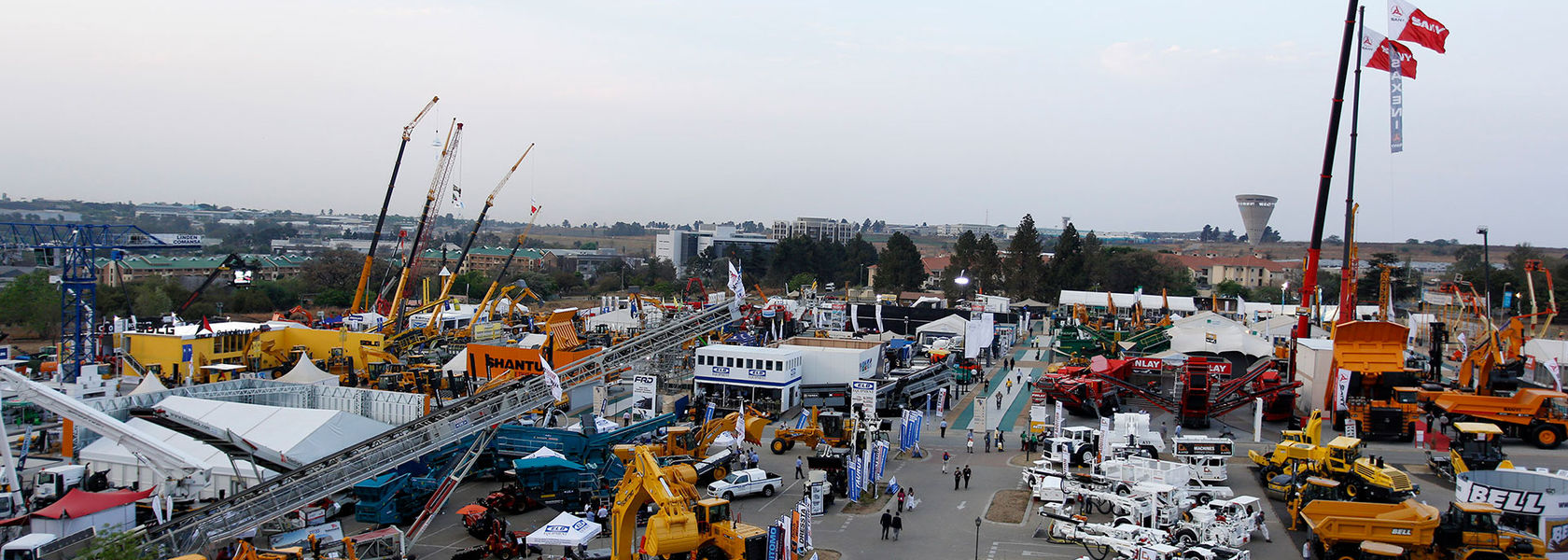 bauma CONEXPO AFRICA 2021: concept re-engineered