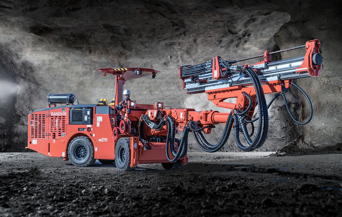 Sandvik launches 2711 series of narrow vein drills