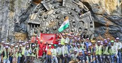 First Terratec TBM breaks through on Mumbai Metro