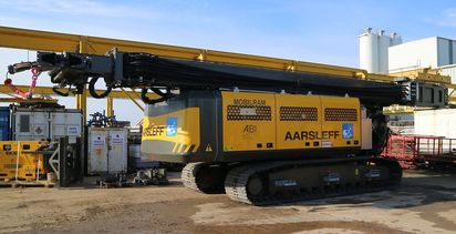 Aarsleff's investment in new machinery