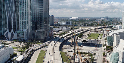 Keller is making history with Miami's Signature Bridge