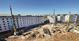 Special foundation engineering for Düsseldorf's highest residential tower