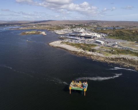 GDG peer reviews new quay in Ireland