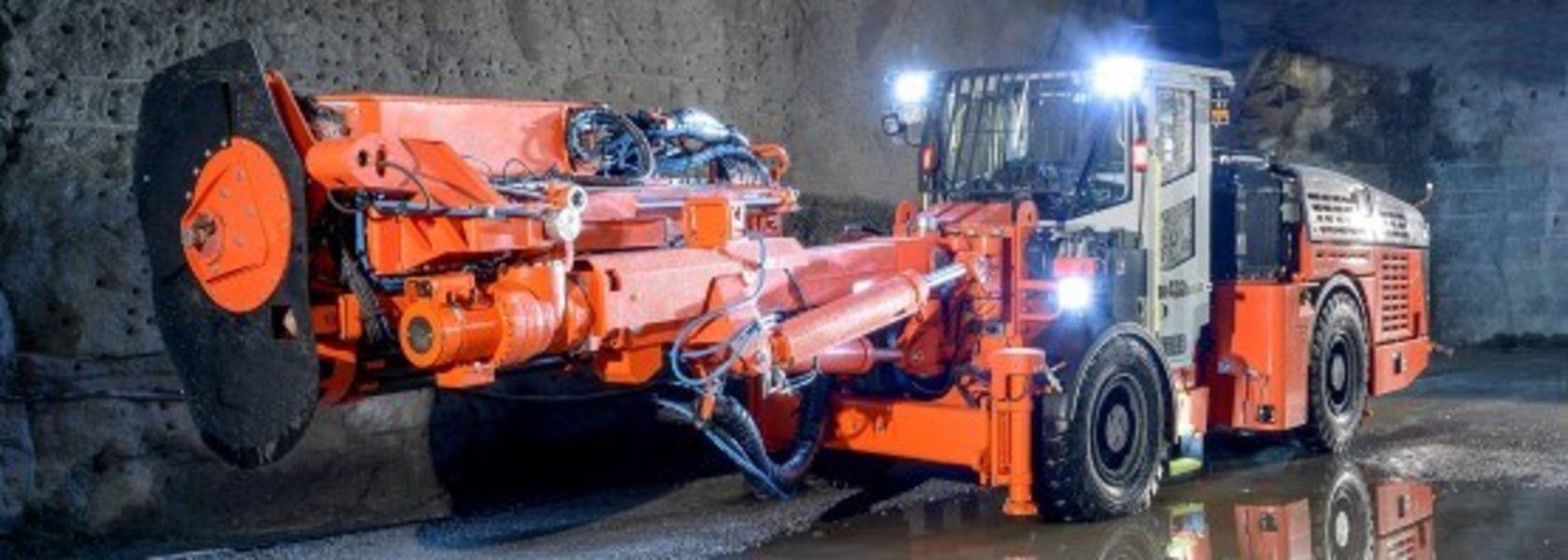 Sandvik DL432i top hammer longhole drill