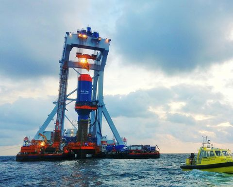 IQIP and Delft University of Technology work on BLUE Piling improvements