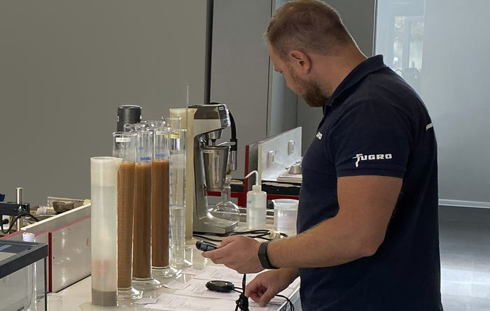 Fugro's new Lithuanian laboratory speeds up local soil testing