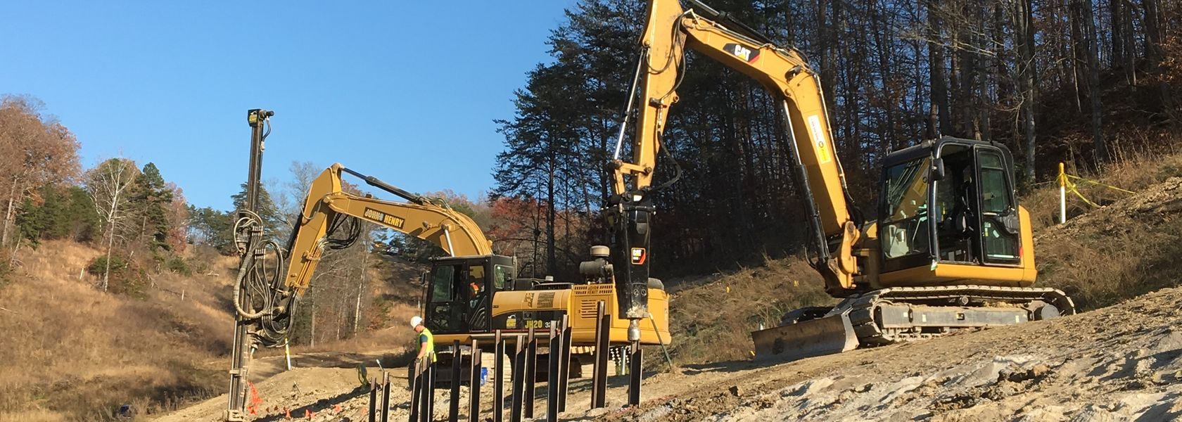 Protecting pipelines from slope movement