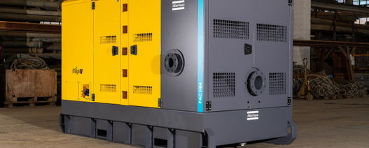 Atlas Copco PAC H pump for high-pressure applications