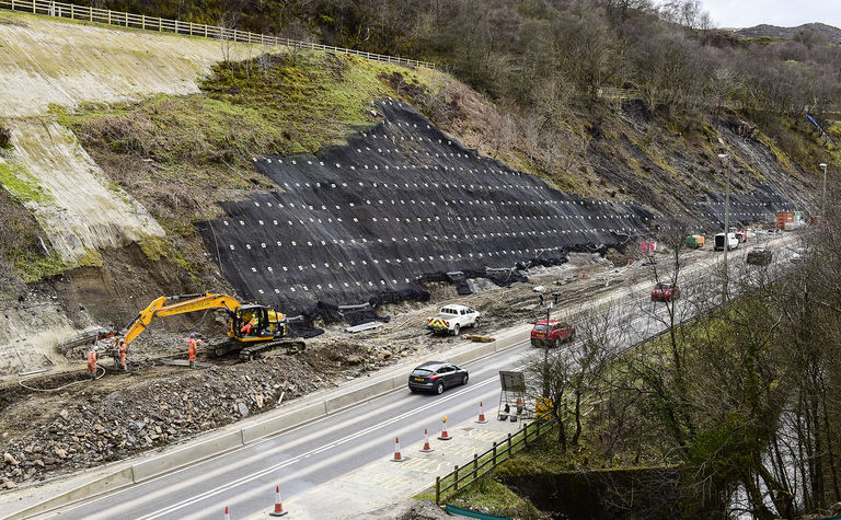Heads of the Valleys Road -  CAN Geotechnical nailed it