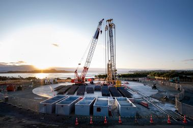 First cutter jobsite in New Zealand for Bauer