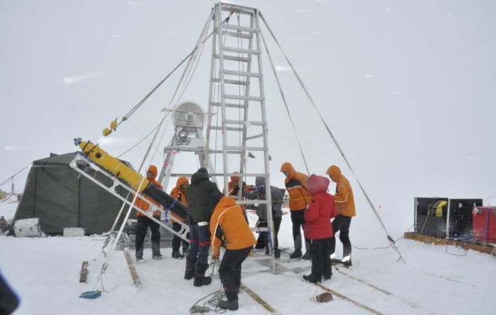 Scientists drill for first time on remote Antarctic Glacier