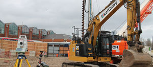 Keltbray saves 240t of carbon emissions by piling with EFC