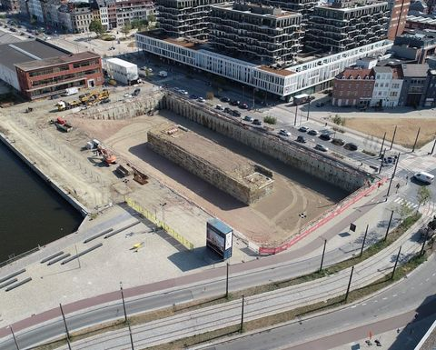 Antwerp to get a new over water residential area