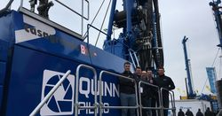 From Bauma to Northern Ireland for Casagrande rig