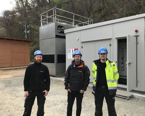 Climeon's first installation in Japan operational