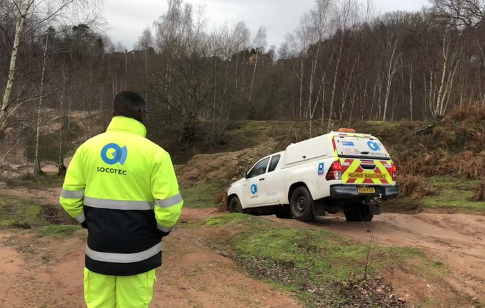 Socotec's Lantra off-road vehicle instructor accreditation