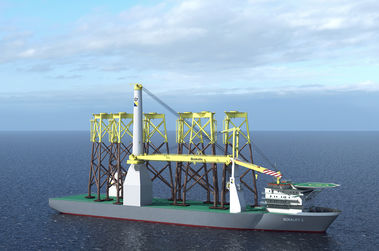 Important milestone for Bokalift 2 crane vessel conversion