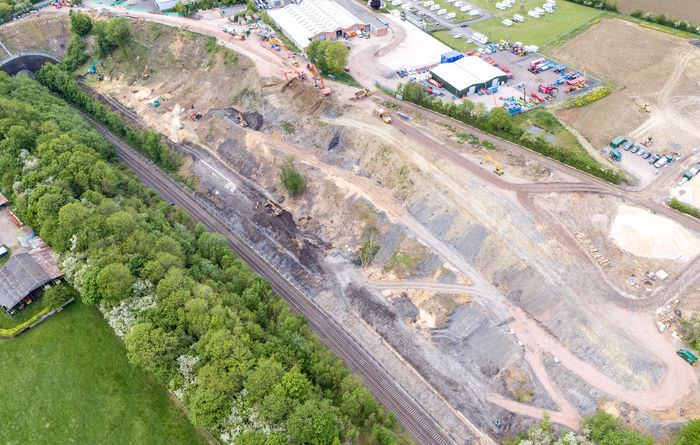 Major section of Chiltern railway line secured from landslips