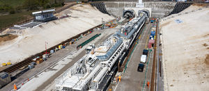 HS2 launches first TBM at site close to London