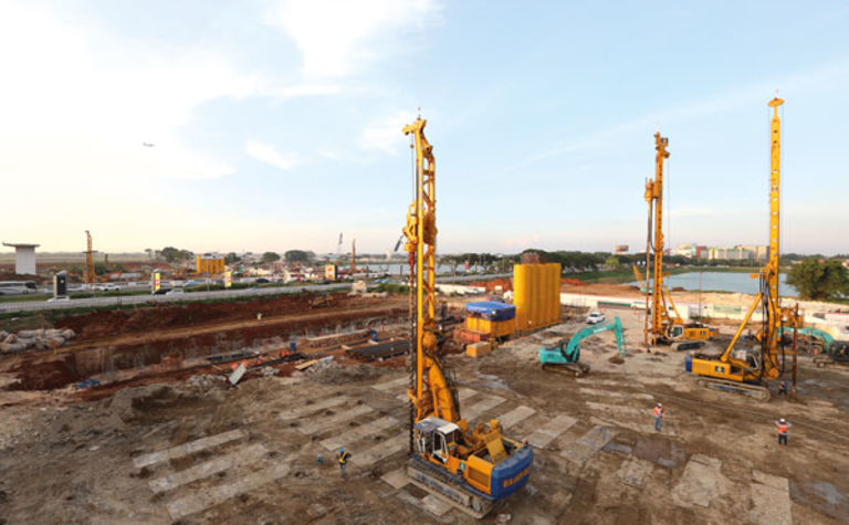 Jakarta Airport expansion undertaken by BAUER Indonesia