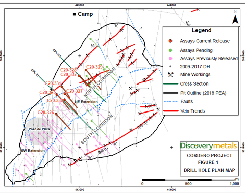 Discovery expands drill programme at Cordero project