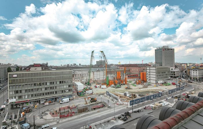 Bauer starts diaphragm wall works at the central Munich railway station