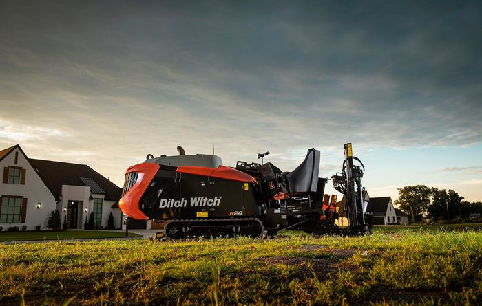 JT24 directional drill launched by Ditch Witch