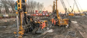 Bauer's micro-pile solution for Rotterdam tunnel project