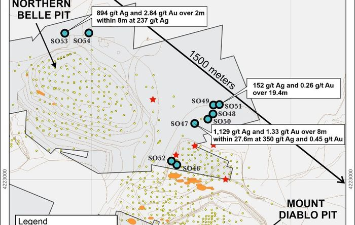 Silver One continues silver mineralisation expansion at Candelaria