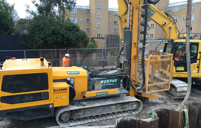 KLEMM drilling rigs in the UK