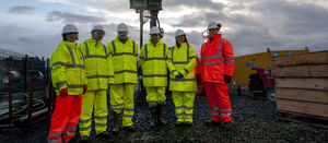 Glasgow geothermal project heats up with first borehole