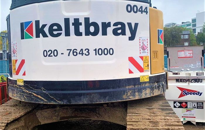Keltbray becomes first major construction firm to trial Green D+ Biofuel