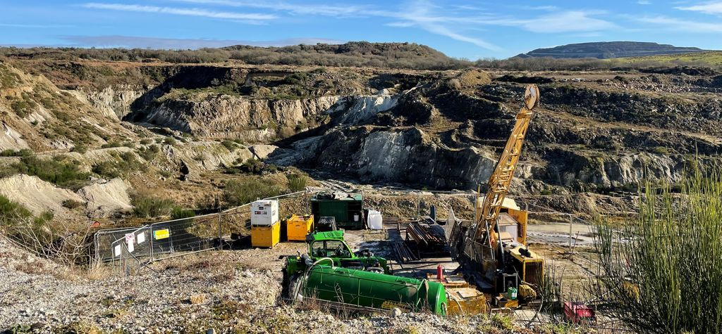 Extracting lithium from  Cornwall's geothermal brine