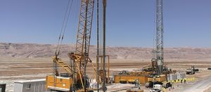 Bauer's support for potash production in Jordan