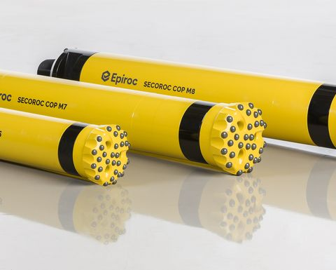Faster, lighter DTH hammers from Epiroc