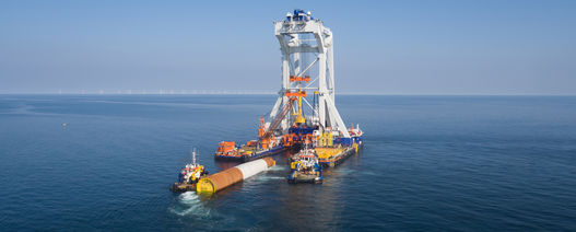 Van Oord takes on Baltic wind farm foundation project